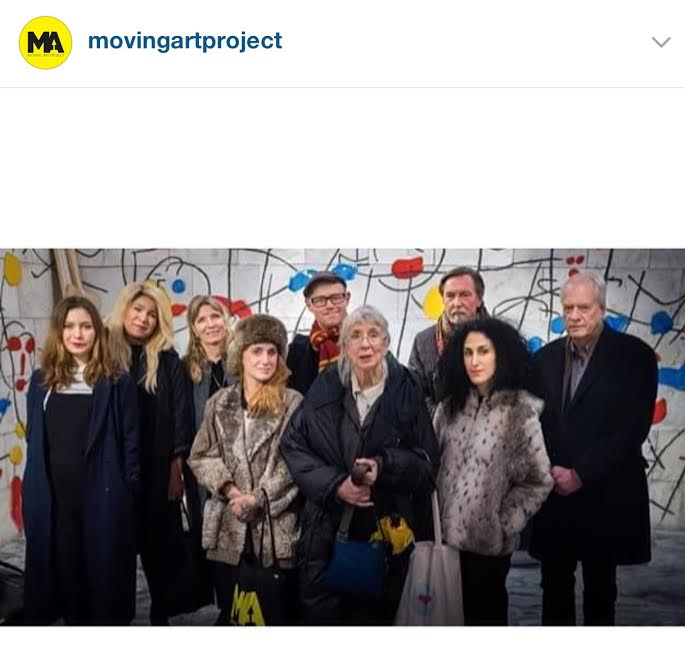 Jury Moving Art Project 2016 Stockholm